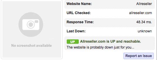 AllReseller Response Times