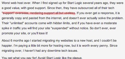StartLogic Support