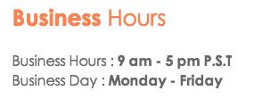 Virpus Business Hours