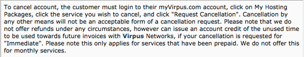 Virpus Fineprint in TOS