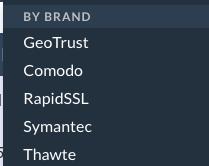 RoseHosting SSL's